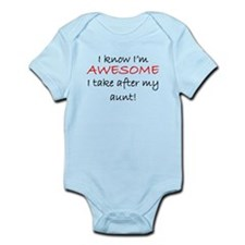 Im Awesome I Take After My Aunt Body Suit