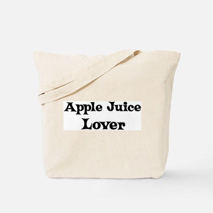 Apple Juice lover Tote Bag