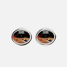 Mars Pathfinder Oval Cufflinks