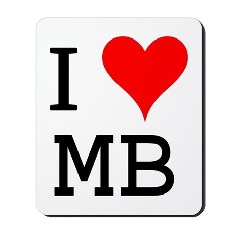 I Love MB Mousepad