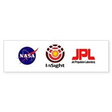 InSight to Mars! Bumper Bumper Sticker