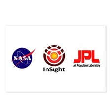 InSight to Mars! Postcards (Package of 8)