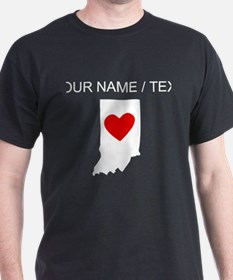Custom Indiana Heart T-Shirt
