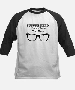 Future Nerd Like My Uncle (Your Name) Baseball Jer