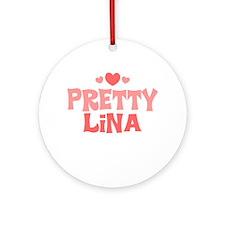 Lina Ornament (Round)
