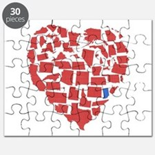 Indiana Heart Puzzle