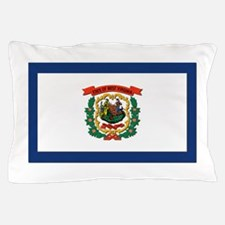 Flag of West Virginia Pillow Case