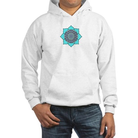 Lotus Blue2 Hooded Sweatshirt