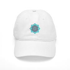 Lotus Blue2 Baseball Cap