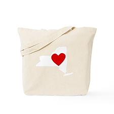 New York Heart Tote Bag