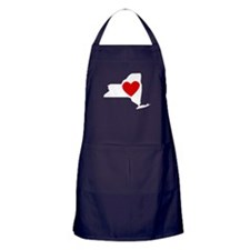 New York Heart Apron (dark)