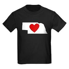 Nebraska Heart T-Shirt