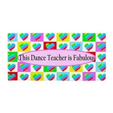 Top Dance Teacher Beach Towel