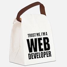 Trust Me, Im A Web Developer Canvas Lunch Bag