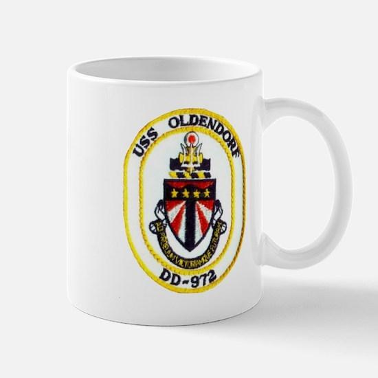 USS OLDENDORF Mug