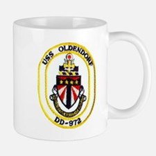 USS OLDENDORF Small Small Mug