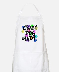 Crazy Dog Lady Apron