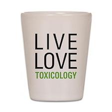 Toxicology Shot Glass