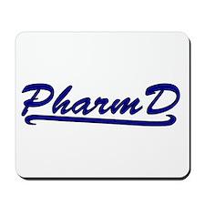 blue pharmd Mousepad