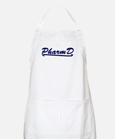 blue pharmd Apron