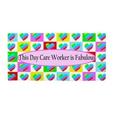 Day Care Worker Beach Towel