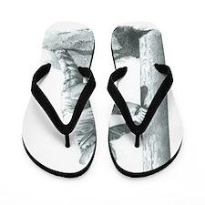 Unique Lineman Flip Flops
