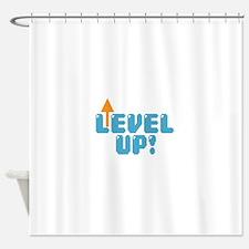 Level Up Gamer Shower Curtain