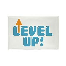 Level Up Gamer Rectangle Magnet