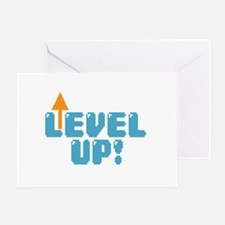 Level Up Gamer Greeting Card