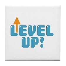 Level Up Gamer Tile Coaster