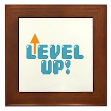 Level Up Gamer Framed Tile