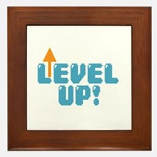 Level Up Gamer Framed Tile