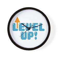 Level Up Gamer Wall Clock