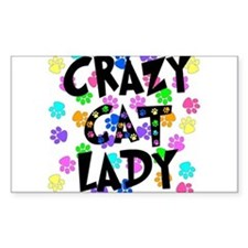 Crazy Dog Lady Stickers