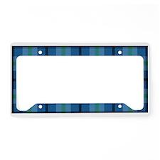 Love a Lefty Plaid Blue License Plate Holder