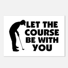 Course Be With You Golfi Postcards (Package of 8)