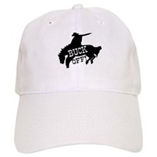 Horse Rider Says Buck Off Baseball Cap