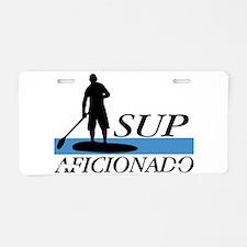 Stand Up Paddleboard Aficio Aluminum License Plate