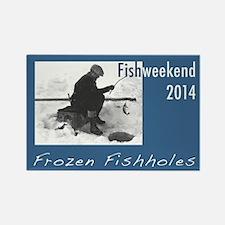 Fishweekend 2014 Rectangle Magnet (10 Magnets