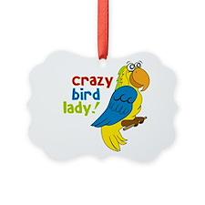 Crazy Bird Lady! Ornament