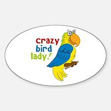 Crazy Bird Lady! Decal