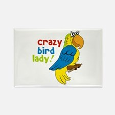 Crazy Bird Lady! Magnets