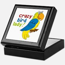Crazy Bird Lady! Keepsake Box