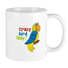 Crazy Bird Lady! Mugs