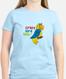 Crazy Bird Lady! T-Shirt