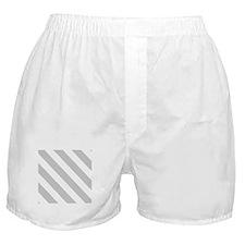 Grey Diagonal Stripes Boxer Shorts