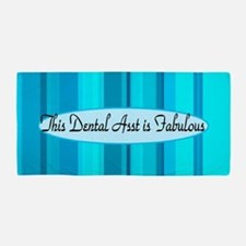 Blue Dental Asst Beach Towel