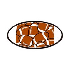 American Football Pattern Patches