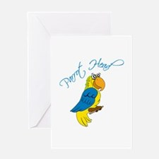 Parrot Head Greeting Cards