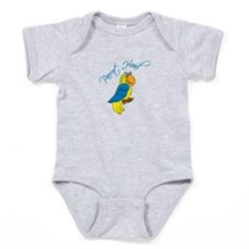 Parrot Head Baby Bodysuit